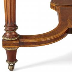 Victorian gilt bronze and wood jardini re table - 1577169