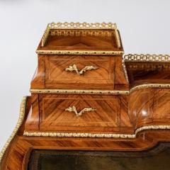 Victorian kingwood and box wood ladies writing table - 792123