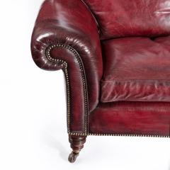 Victorian three seater chesterfield sofa - 825291