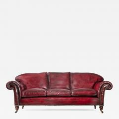 Victorian three seater chesterfield sofa - 863874