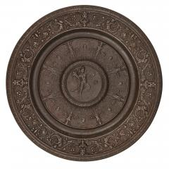 Viennese cast iron circular occasional table - 1683174