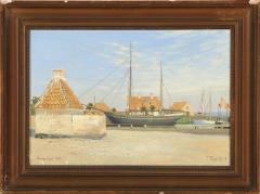 View of Dragor Harbor in Denmark - 1924817