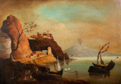 View of Mount Vesuvius and the bay of Naples - 1723968