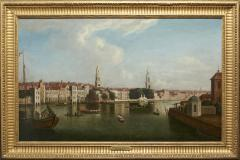 View of the Thames by Samuel Scott 1702 1772  - 626110