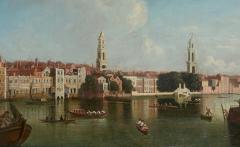 View of the Thames by Samuel Scott 1702 1772  - 626111