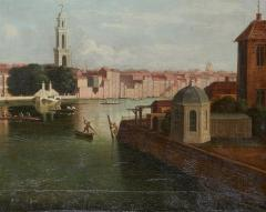 View of the Thames by Samuel Scott 1702 1772  - 626112