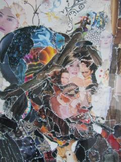 Vik Muniz A Brazilian Modern Abstract Expressionist Chromegenic Print Vik Muniz - 1339899