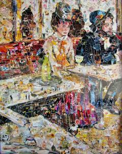 Vik Muniz A Brazilian Modern Abstract Expressionist Chromegenic Print Vik Muniz - 1341709