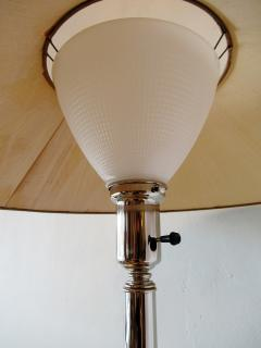 Viktor Schreckengost American Modern Chrome Chinaman Table Lamps Viktor Schreckengost 1930s - 644597