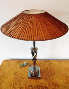 Viktor Schreckengost American Modern Chrome Chinaman Table Lamps Viktor Schreckengost 1930s - 644602