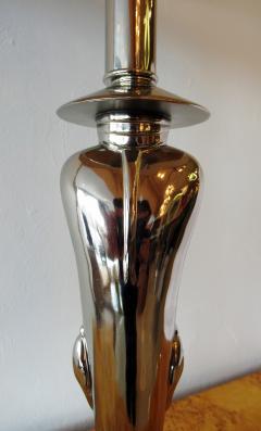 Viktor Schreckengost American Modern Chrome Chinaman Table Lamps Viktor Schreckengost 1930s - 644608