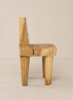 Vince Skelly Valletta Oak Chair Sculpted by Vince Skelly - 1720412