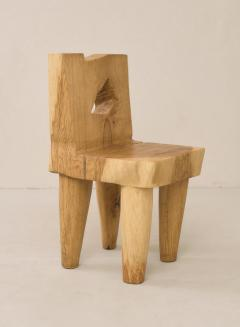 Vince Skelly Valletta Oak Chair Sculpted by Vince Skelly - 1720423