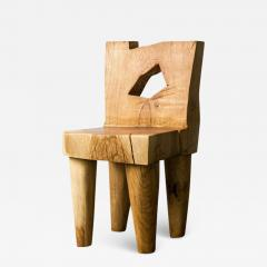 Vince Skelly Valletta Oak Chair Sculpted by Vince Skelly - 1721682