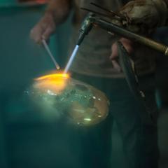 Vincent Poujardieu SEPTEMBRE Blown Glass Vase - 1007757