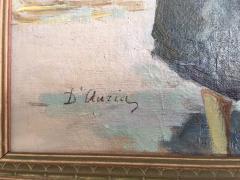 Vincenzo D Auria VINCENZO DAURIA ITALIAN MARKET SCENE PAINTING - 1148776