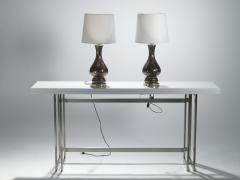 Vincenzo Nason Italian mid century Murano glass lamps Vincenzo Nason 1960s - 983570