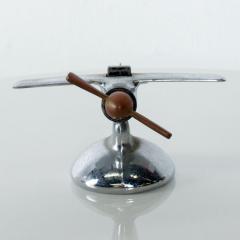 Vintage AIRPLANE Table Cigarette Lighter Mid Century Mod USA - 1447349
