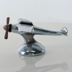 Vintage AIRPLANE Table Cigarette Lighter Mid Century Mod USA - 1447356