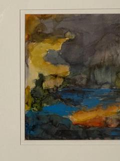Vintage Abstract Watercolor American Circa 1940 - 1570808
