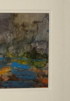 Vintage Abstract Watercolor American Circa 1940 - 1570809