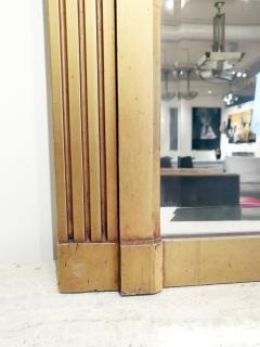 Vintage Art Deco French Giltwood Mirror - 1938624