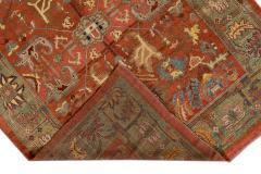 Vintage Bakshaish Tribal Wool Rug - 1550846