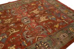 Vintage Bakshaish Tribal Wool Rug - 1550848