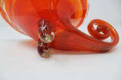 Vintage Barbini Style Murano Glass Cornucopia - 2133995
