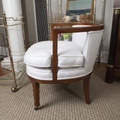 Vintage Barrel Back Chair - 1100364