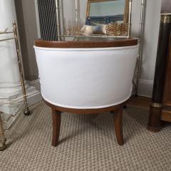 Vintage Barrel Back Chair - 1100366