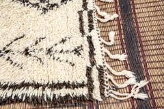 Vintage Beni Ouarain Moroccan Berber Rug - 338321