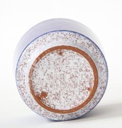 Vintage Blue Grey Ceramic Bowl West Germany c 1960s Stamped  - 1943642