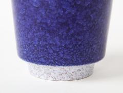 Vintage Blue Grey Ceramic Bowl West Germany c 1960s Stamped  - 1943650