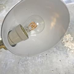 Vintage Brass Swan Neck Table Lamp - 1021316