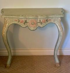 Vintage Cannell Chaffin Louis XV Style Console Table Nightstands a Pair - 2009738