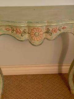 Vintage Cannell Chaffin Louis XV Style Console Table Nightstands a Pair - 2009745