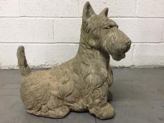 Vintage Cement Scottish Terrier - 2083564