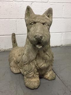 Vintage Cement Scottish Terrier - 2083565