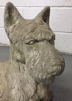 Vintage Cement Scottish Terrier - 2083566