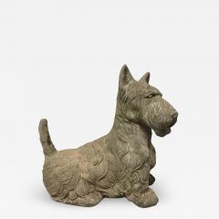 Vintage Cement Scottish Terrier - 2084066