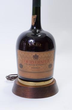 Vintage Courvoisier Bottle Lamp - 244336