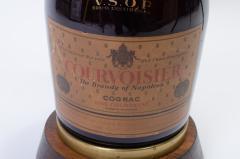 Vintage Courvoisier Bottle Lamp - 244337