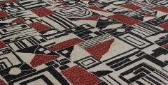 Vintage Cubist Style Rug - 1123386