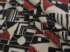 Vintage Cubist Style Rug - 1123389