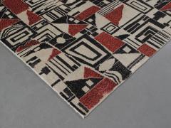 Vintage Cubist Style Rug - 1123390