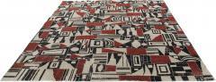 Vintage Cubist Style Rug - 1124031