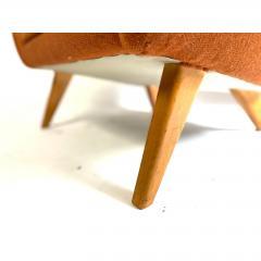 Vintage Danish Modern Highback Lounge Chair - 1692124