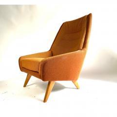 Vintage Danish Modern Highback Lounge Chair - 1692125