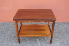 Vintage Danish Rosewood Flip top Tea Table - 1635489